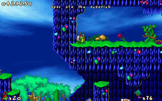 Dopefish reference in Jazz Jackrabbit II