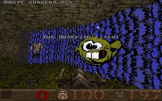 Dopefish in Quake