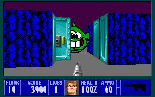 Dopefish user mod for Wolfenstein 3D